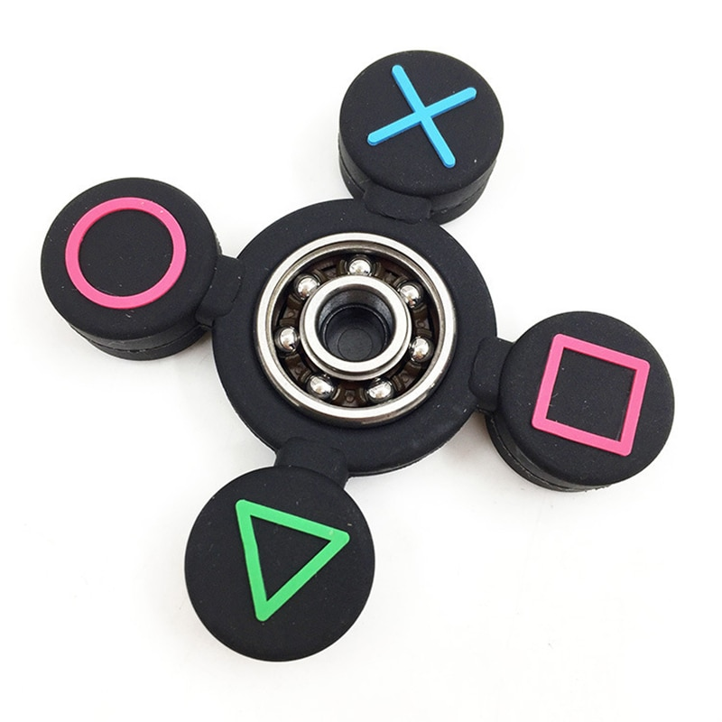 New PVC Fidget Spinner Adult Antistress Spinning Top Toys Children Antistress Hand Spinner Silica Gel Anxiety Gyroscope Gifts