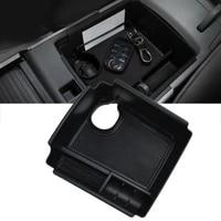 1pc car console storage organizer tray box armrest collector box auto interior collection accessories for kia niro ev 2019