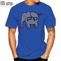 men tshirt php elephant t shirt cool printed t shirt tees top