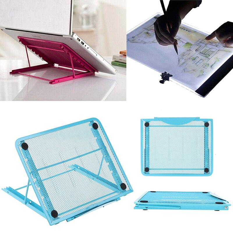 5D herramienta de pintura de diamante DIY A4 soporte de almohadilla de luz LED soporte de ordenador plegable soporte de tablero de dibujo para ordenador portátil