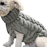 dog clothes winter warm sweater pet supplies french bulldog chihuahua pug clothing suit for large small medium dogs soft jacket