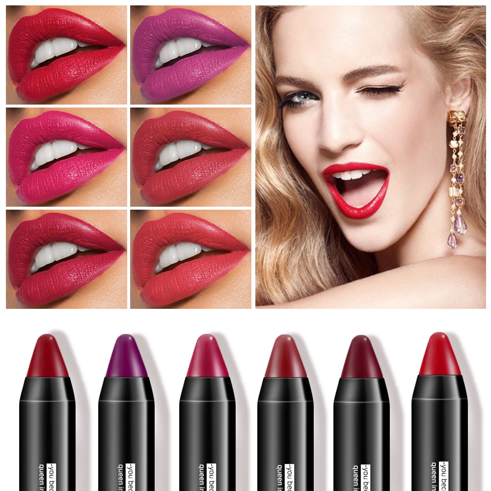 Permanent Lipstick For Lips Makeup Long Lasting Matte Lipstick Waterproof Lipsticks Women Cosmetics