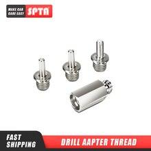 "SPTA Drill Aapter резьба Для Полировки pad & Hook Loop Backer Plate Backing Pad & полировщик 5/8 ""или M14 резьба 1 шт    выберите один"