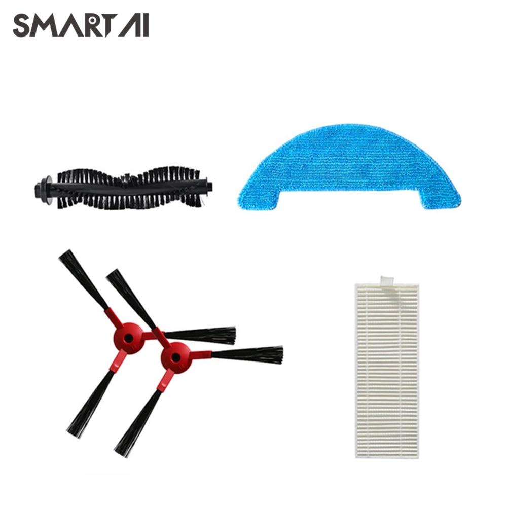 SmartAI جهاز آلي لتنظيف الأتربة G50-Water مُرشِح خزان عنصر-فراغ فرشاة التصفية-ممسحة G50 جهاز آلي لتنظيف الأتربة التبعي عدة