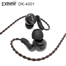 DUNU DK-4001 4BA+1DD in ear-Headphone Hifi Music Monitor Audio Hybrid Earphones With MMCX Detachable Cable For Phones
