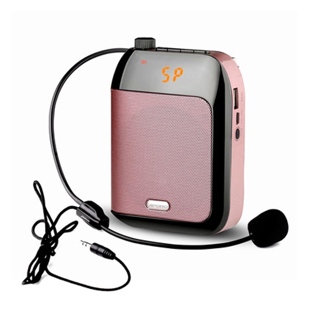 Amplificador De Voz con cable, 15W, para profesores, escuela, Guía De viaje,...