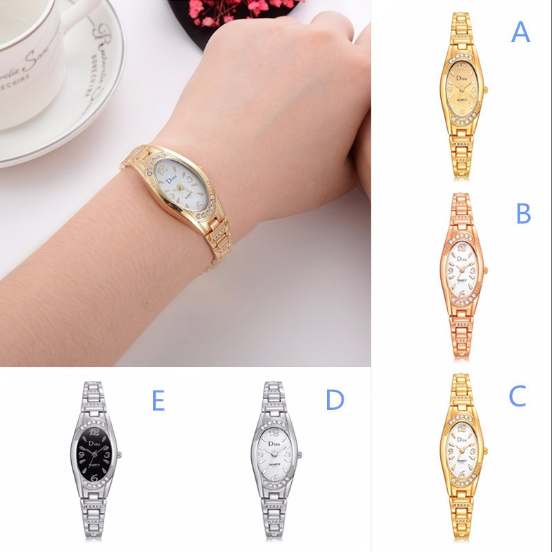 2020 News Fashion Women's Stainless Steel Jewelry Rose Gold Plated Bracelet Fashion Elegant Ladies Watch наручные часы женские