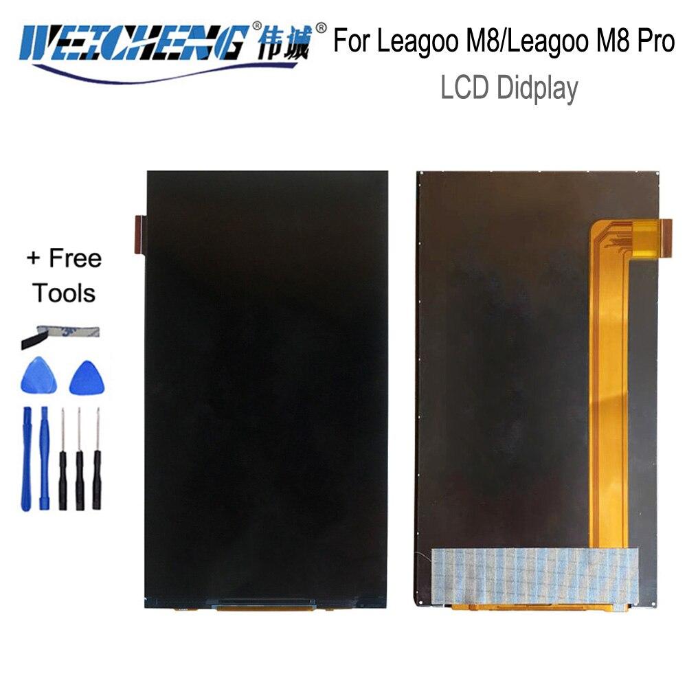 Para Leagoo M8 LCD Display gran oferta negro para m8 teléfono display para Leagoo M8 Pro display digitalizador + herramientas gratis
