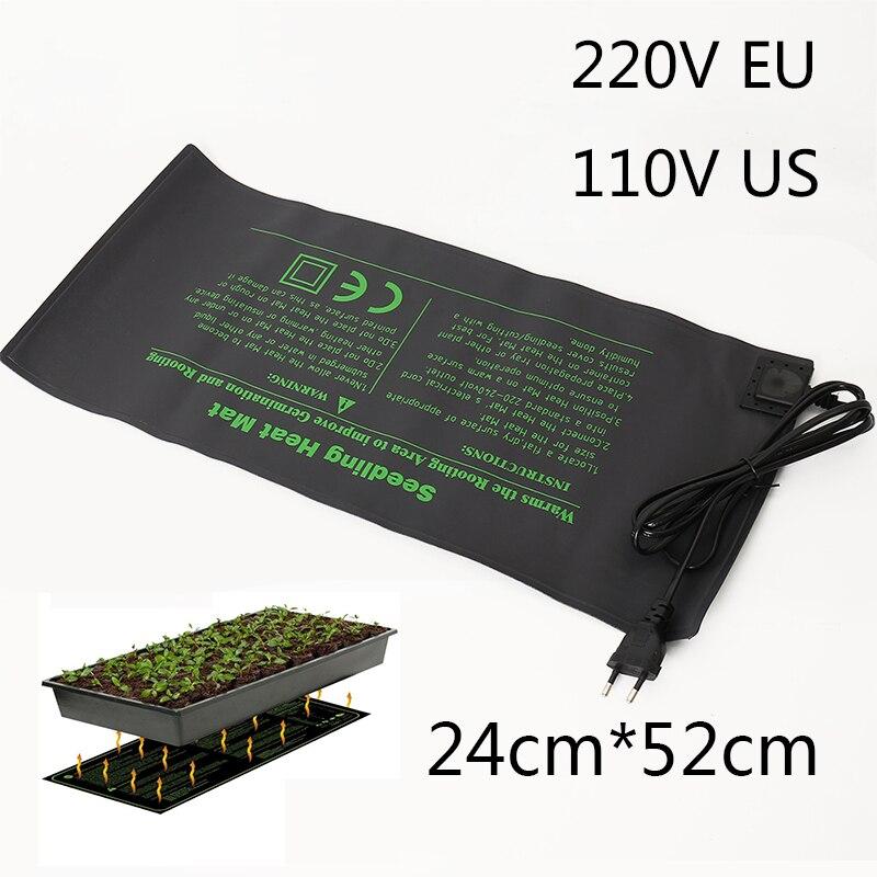 Sämling Wärme Matte Anlage Keimung der Samen Ausbreitung Klon Starter Pad gemüse blume garten werkzeuge liefert gewächshaus 52X24cm