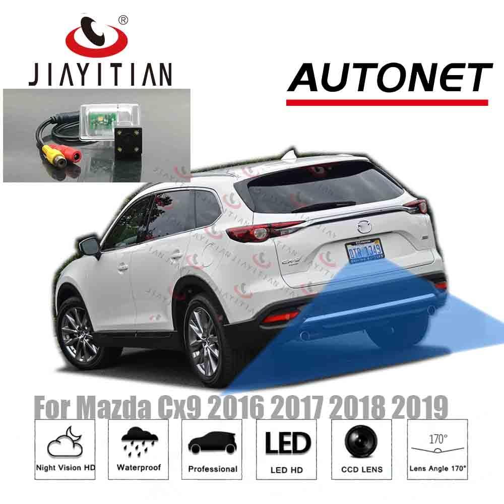 jiaYiTian Rear View camera For Mazda CX-9 CX9 II 2016 2017 2018 2019 2020 CCD Night Vision Backup camera Reverse camera Parking