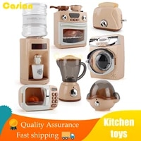 childrens pretend play simulation electric miniatures kitchen microwave oven educational gift kitchen accessories toys for girl