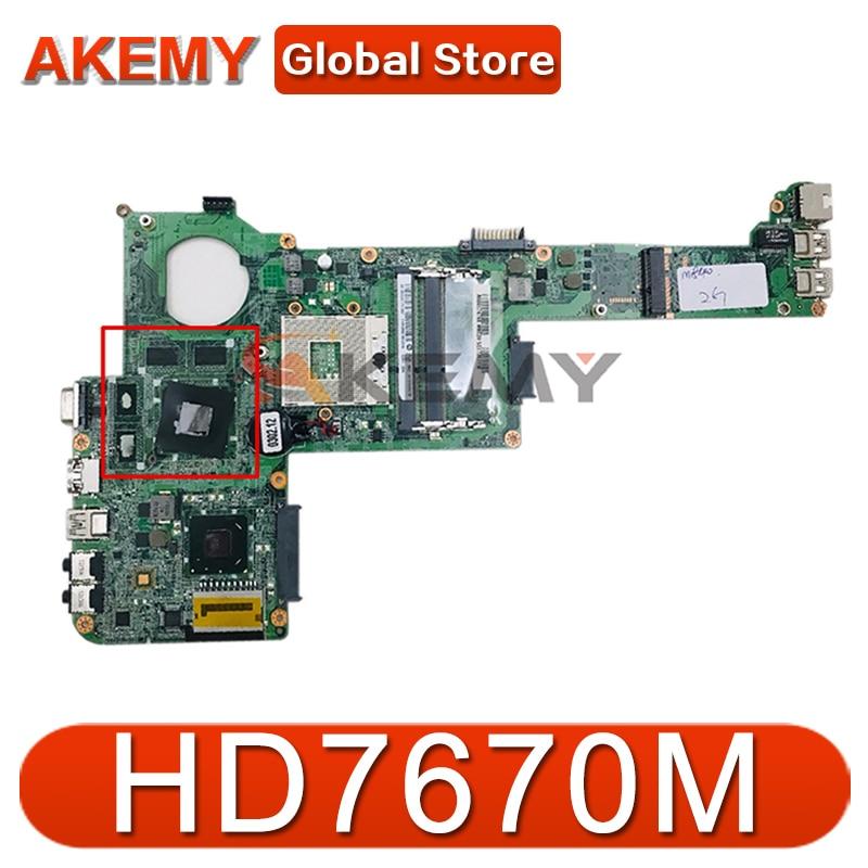 AKEMY DABY3CMB8E0 REV E A000174130 لتوتوشيبا الأقمار الصناعية C840 L840 اللوحة الأم للجهاز المحمول HM76 DDR3 HD7670M الرسومات