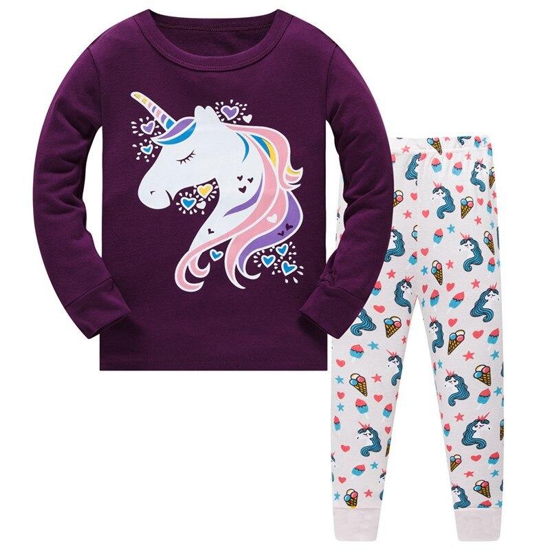Kinder Pyjamas Baby Mädchen Frühling Herbst Pyjamas kinder Pyjamas Set Pyjama Infantil Kinder Nachtwäsche Kleidung Set