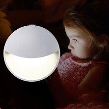 Couloir créatif capteur lumière LED veilleuse interrupteur prise américaine adapté à léclairage de nuit dans la chambre cuisine couloir salle de bain