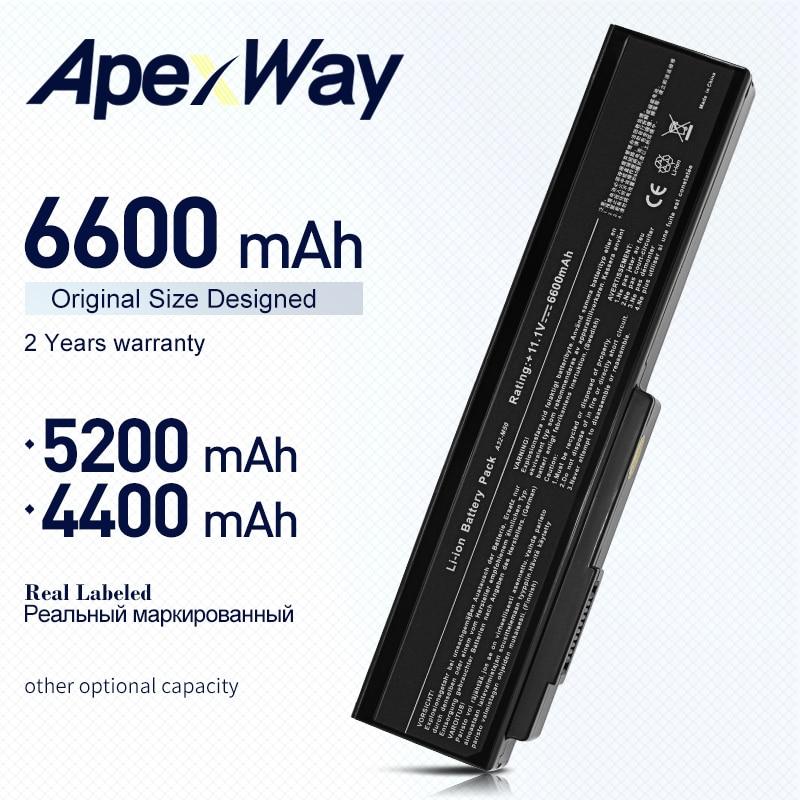 Фото - 11.1V Laptop Battery For Asus N53SV N53 N53S N53J N61 N61D N61J N61V M50 M50S M50V M50SA M50SV A32-N61 A32-M50 L062066 6600mAh refrigerator biryusa m50