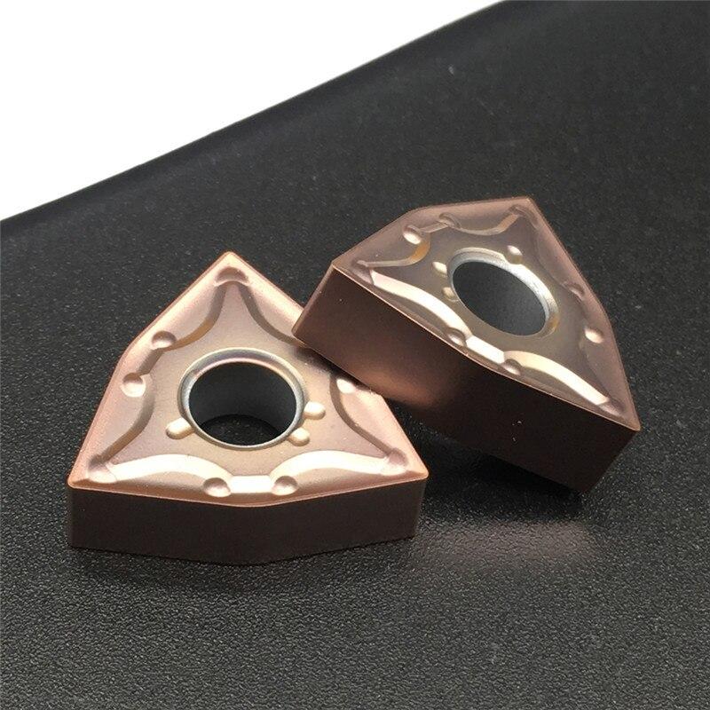 WNMG080404 WNMG080408 MA VP15TF insertos de carburo de alta calidad herramienta de torneado externo CNC herramientas de corte para MWLNR/L soporte