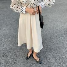 elegant elastic high waist skirts for women 3012#