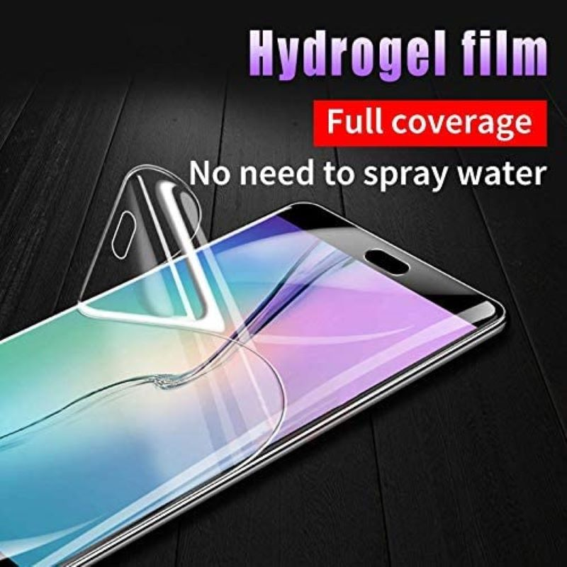 Screen Protector Hydrogel Film For OPPO RENO 3 Pro Realme X2 Pro K5 A11X A5 A9 2020 Realme 5 Pro Q 3I K3 AX7 F11 (Not Glass)