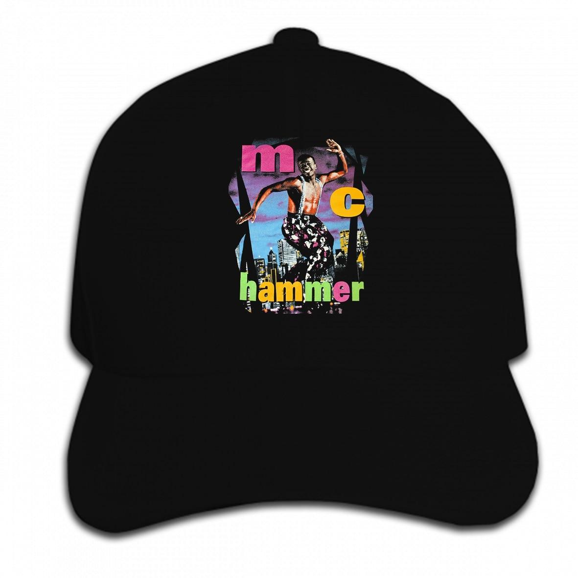 Imprimir personalizado gorra de béisbol delgada vtg MC martillo pantalla estrellas rap hip hop reimpresión sombrero gorra pico