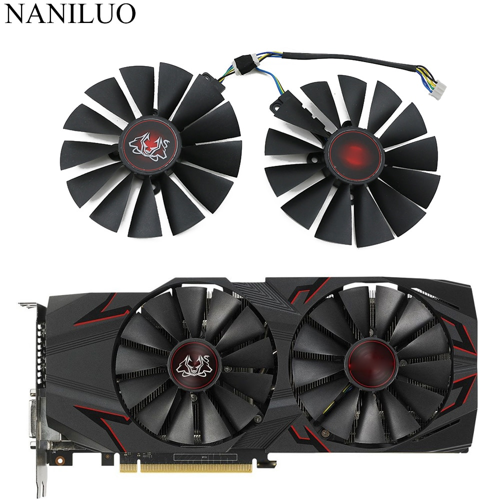 95MM FDC10M12S9-C GTX1070Ti Cooler Fan For ASUS GTX 1070 Ti CERBERUS ADVANCED Gaming Video Card Cooling Fan