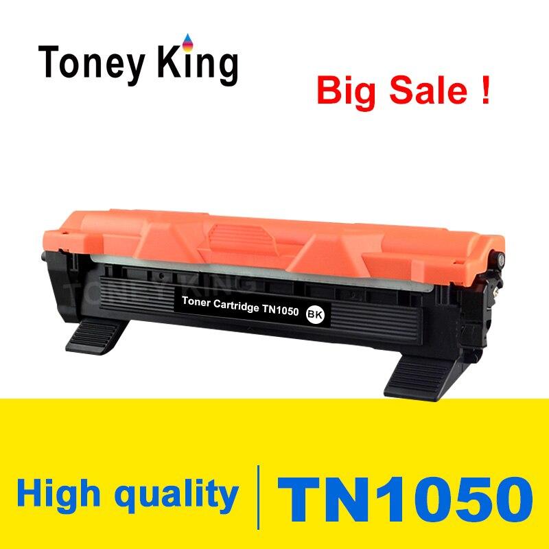Toney King cartouche de Toner TN1050 TN 1050 Compatible pour imprimante Brother HL-1110 1112 DCP-1510 1512R MFC-1810 avec puce
