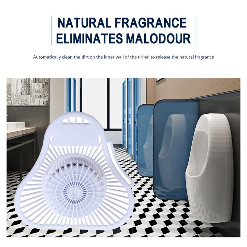 Urinario triángulo de esquina desodorización bola sanitaria inodoro Anti-obstrucción bloque de inodoro urinario filtro limpieza bloque de incienso limpio