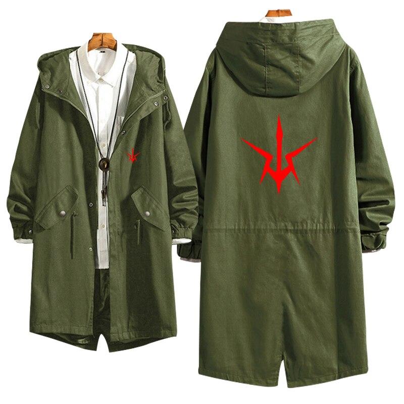 CODE GEASS Lelouch of the Rebellion Косплей ветровка Цвет на замке с принтом, новая модная куртка с капюшоном куртка Тонкий свитер для повседневной носки