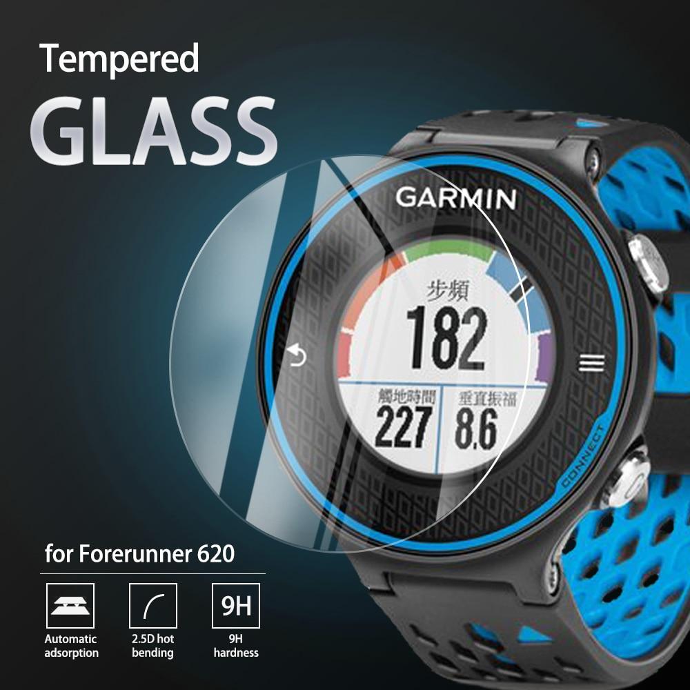 5Pcs 9H Premium Tempered Glass For Garmin Forerunner 620 630 645 220 225 230 235 245 245M 735 935 945 Screen Protector Film