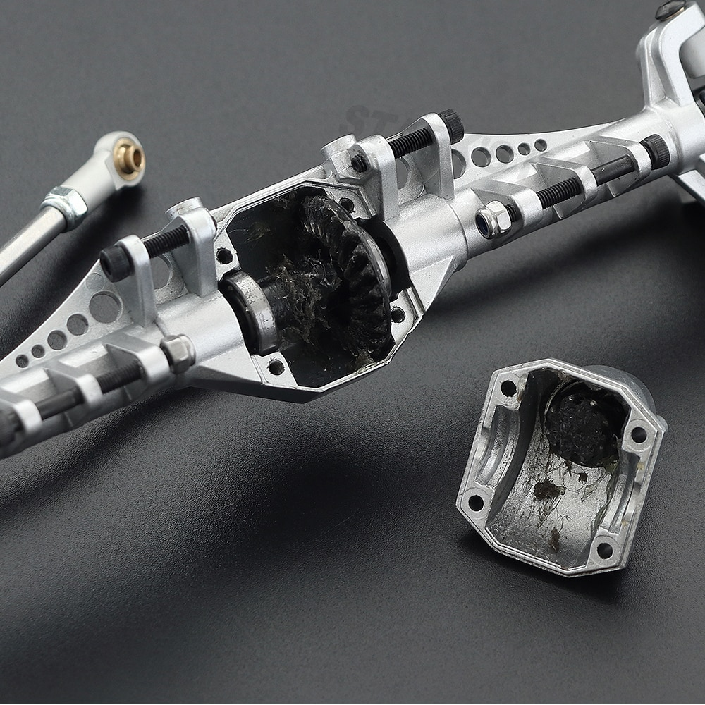 Capra Aluminum Alloy Front Rear Portal Axle for 1/10 RC Crawler Car Axial 1.9 Unlimited Trail Buggy UTB Currie F9 Upgrade enlarge