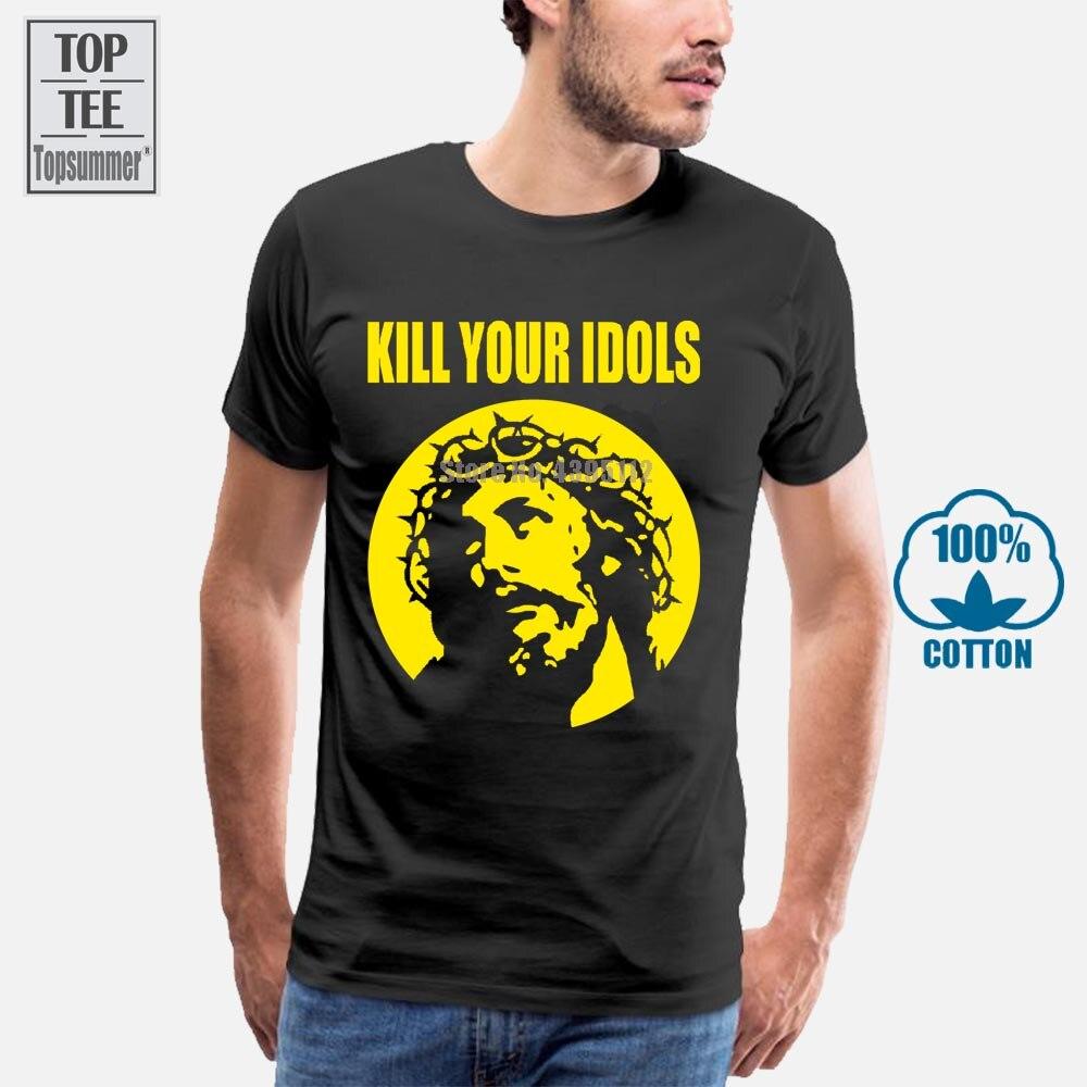 Mata a tus ídolos Vintage Retro T camisa Axl Rose Guns N Roses Gnr Punk Rock Sz L