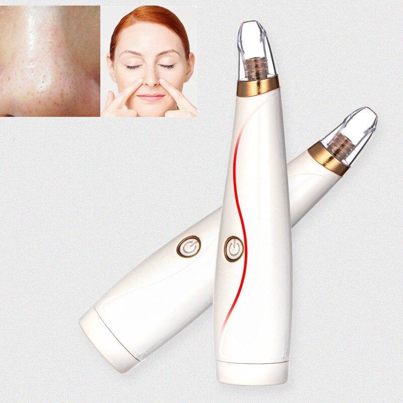 1 pieza aspiradora eléctrica caliente limpiador de poros removedor de espinillas poros de acné eliminar exfoliante de limpieza Facial instrumento de belleza