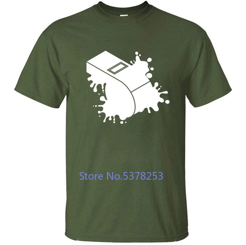 Camiseta de árbitro para hombre, camiseta para hombre, Color sólido, cuello redondo, chulas de hombre de talla grande 2020, camisetas de diseño, camiseta para hombre