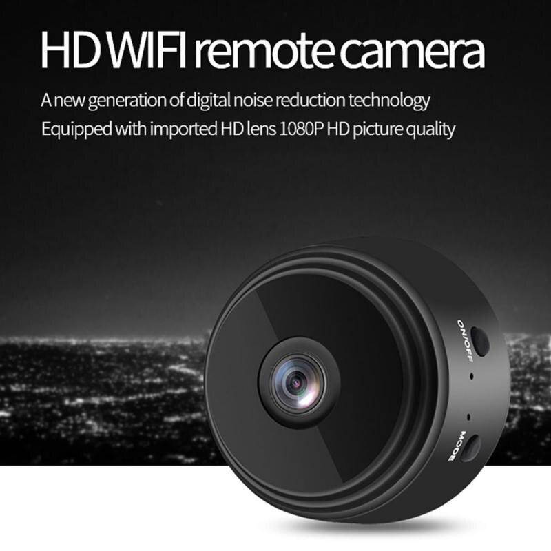Wi-Fi мини-камера с дистанционным управлением через приложение, Домашняя безопасность, видеокамеры Hd 1080P, IP-камера, ИК Ночная Магнитная Беспро...