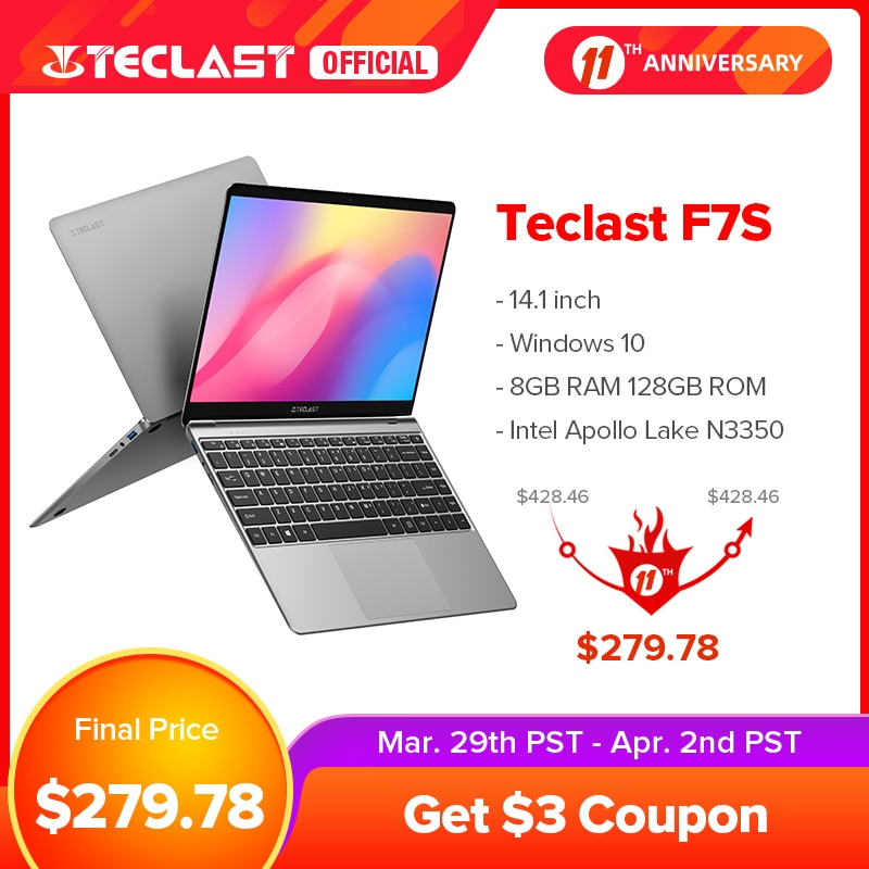 Newest Teclast F7S 14.1