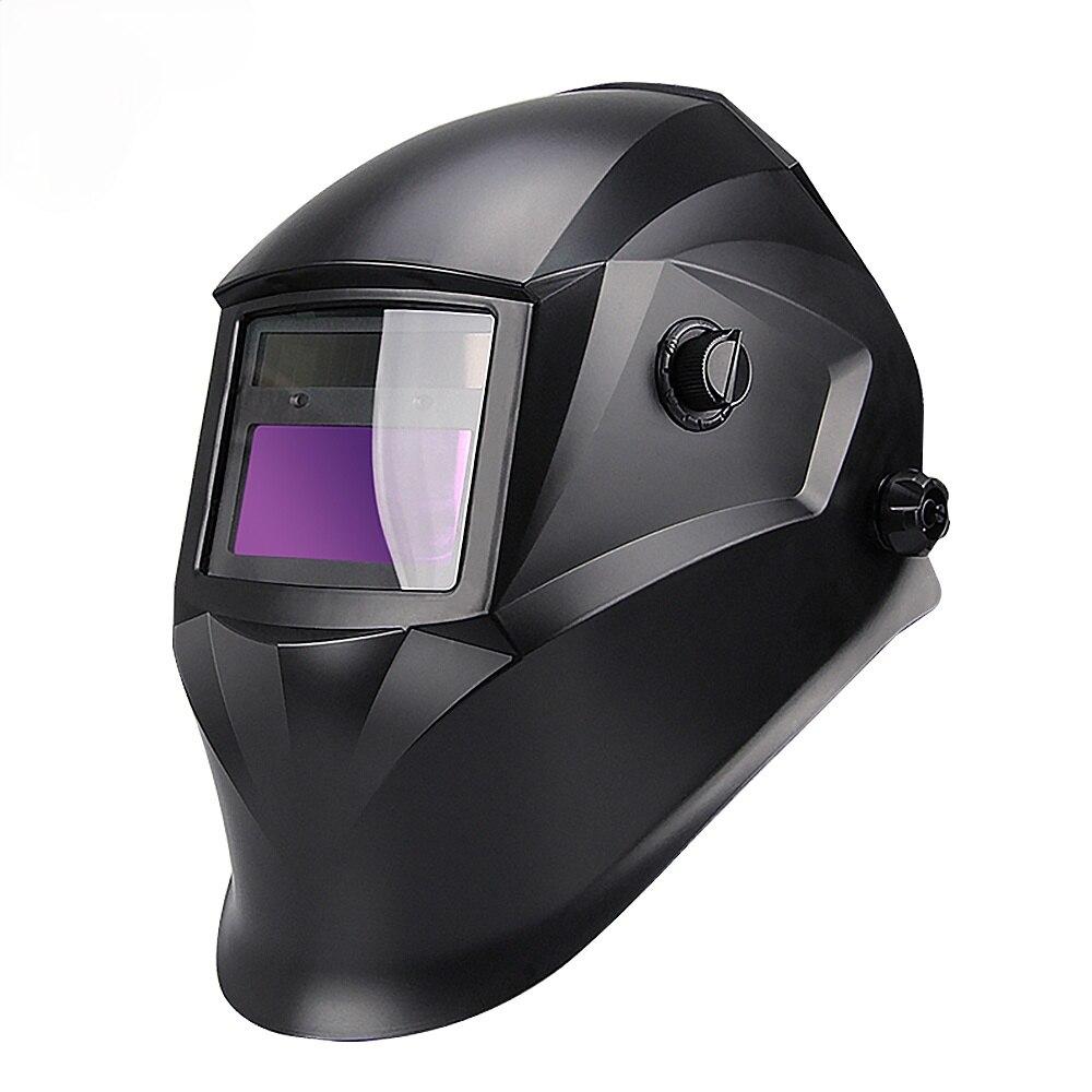 Automatic Darkening Solar Welding Helmet for MIG MMA TIG Welding Mask/Cap Goggles Light Filter Welders for Soldering Work