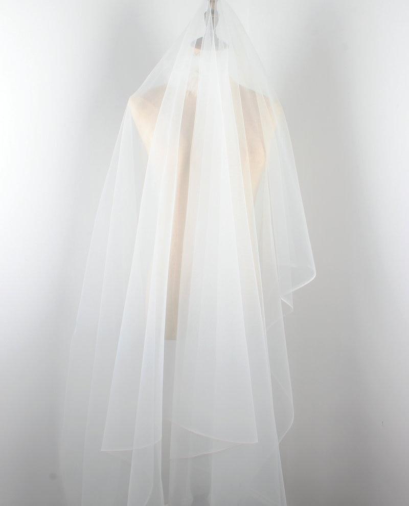 Tela de tul de malla súper fino blanco suave, malla fina de 150cm de ancho