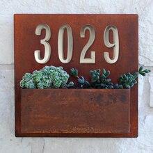10cm Selbst-Adhesive Haus Anzahl Tür Hause Adresse Mailbox Zahlen für Haus Anzahl Digitale Tür Outdoor Aufkleber Zeichen #0-9 silber