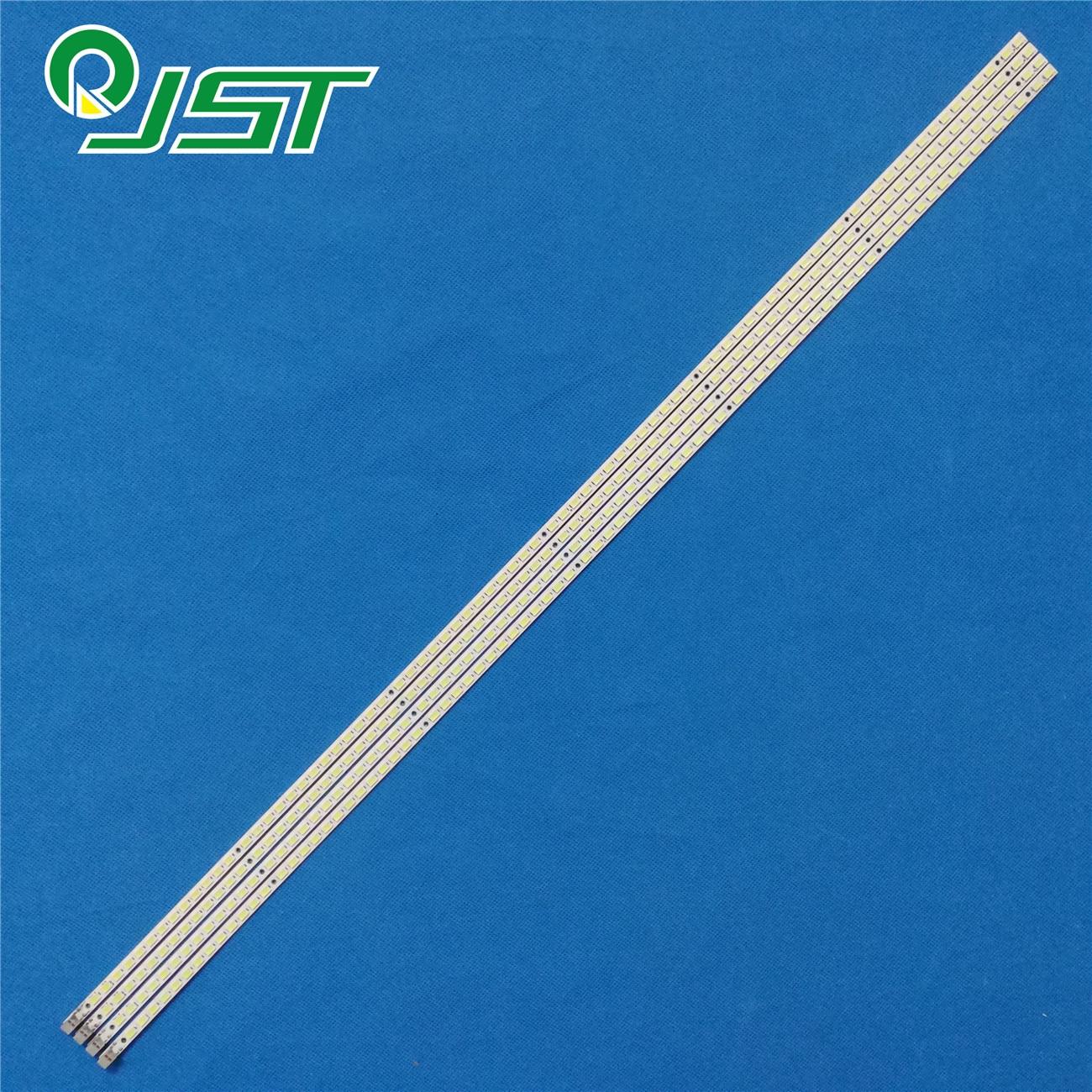 90% New 4pcs/Kit LED strips for SAMSUNG 55 TV LTF550HQ02 LTF550HJ03 LJ64 02386A LJ64 02391A SLED 2010SVS55 120/240HZ 80 OD V1.0