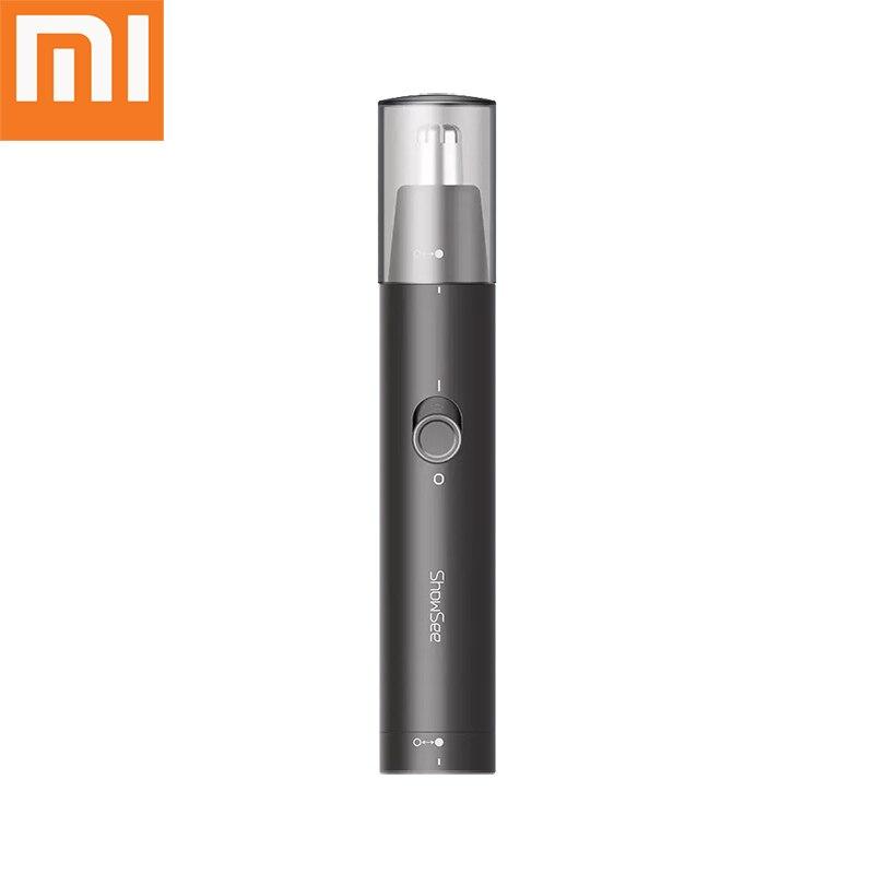 Mini recortadora eléctrica Xiaomi Mijia para nariz, afeitadora portátil para la nariz, afeitadora impermeable, limpiador seguro, herramienta limpiadora de eliminación para hombres