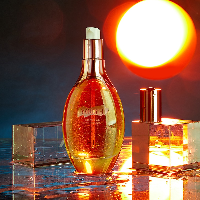 Золотая фольга, экстракт Фея жидкость увлажняющий тоник кожи поддерживать светильник линии нежный ремонт тоник средства по уходу за кожей