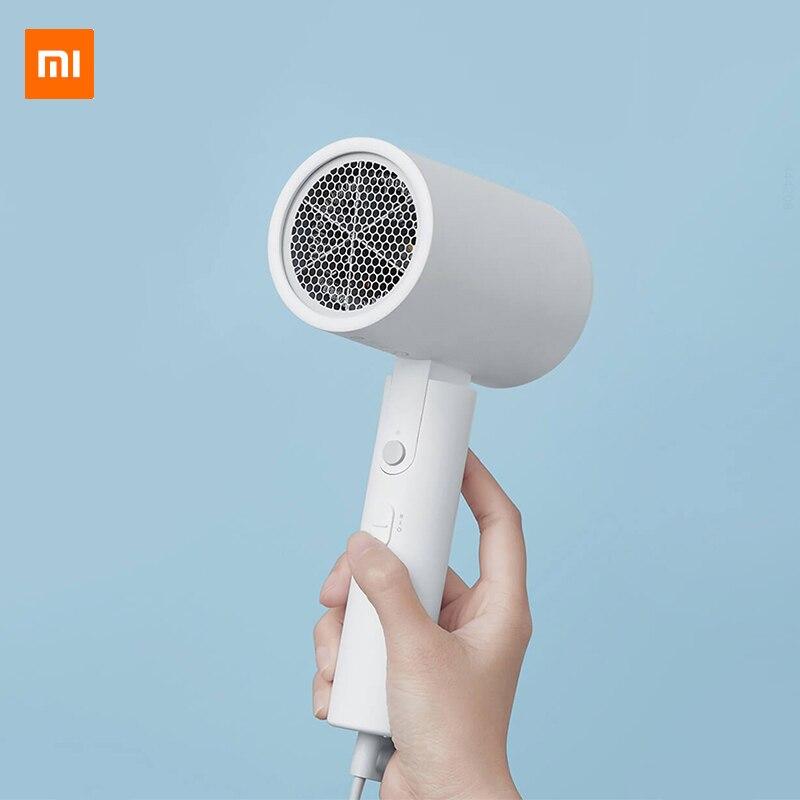 XIAOMI MIJIA водный ионный фен для дома 1800 Вт Nanoe Уход за волосами Анион Профессиональный Быстросохнущий портативный Дорожный фен-диффузор