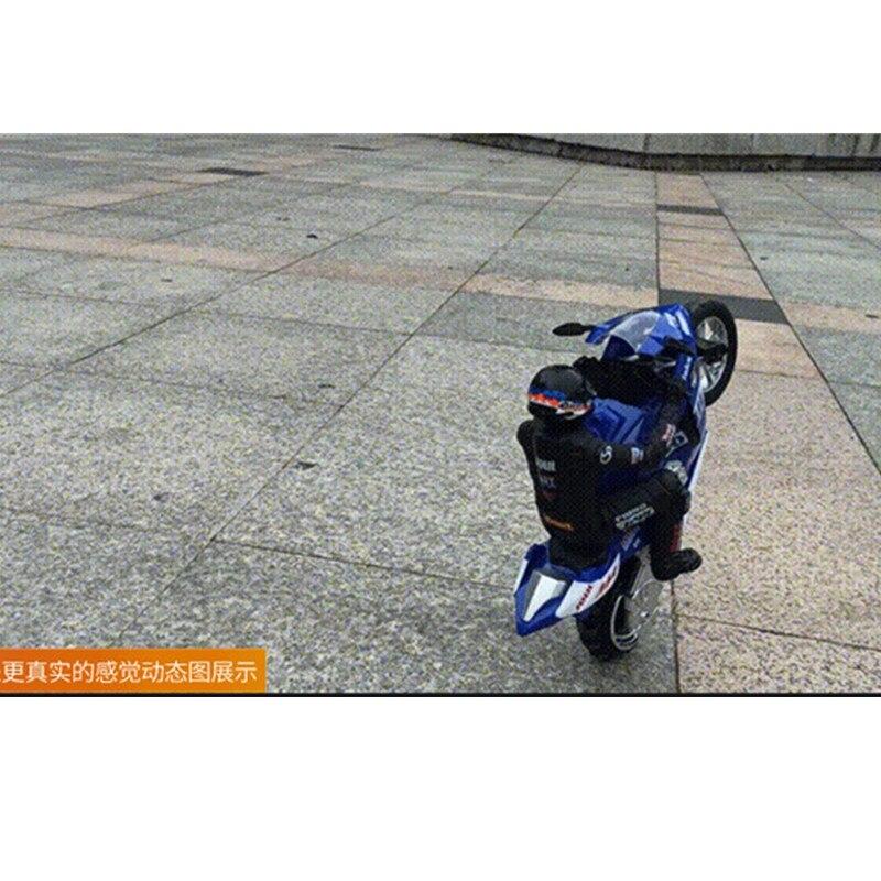 2.4G High Simulation RC Motorcycle RC Stunt  Motorbike Drift Car With Flash Led Light  360Degree Rotation Shockproof  Motorcycle enlarge