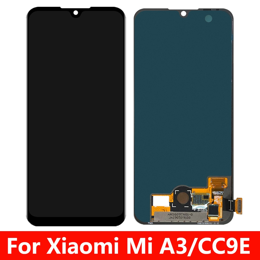 For Xiaomi Mi A3 LCD Display Touch Screen Digitizer Assembly For Xiaomi MI CC9E Display Screen Replacement