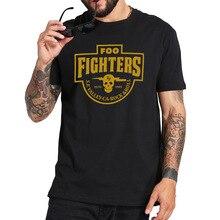 Foo combattants t-shirt S.F. Valley Rock Band t-shirt mode décontracté respirant Fitness col rond taille ue 100% couverture en coton