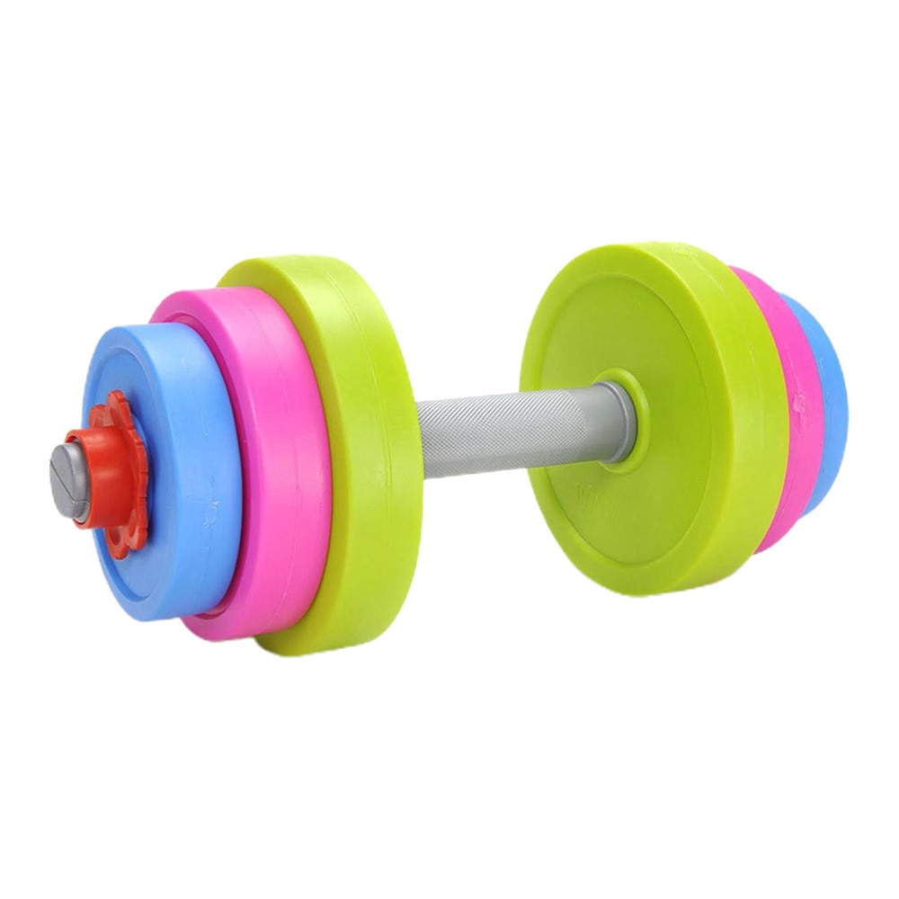 Conjunto de Pesos Equipamentos de Exercício Ajustáveis Crianças Conjunto Haltere Musculação Treinamento Músculo Ginásio Casa 1