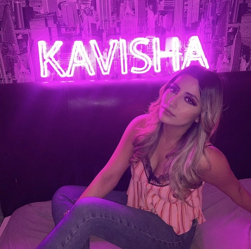 OHANEE Design Custom Led Neon Sign Wedding Party Birthday Bedroom Name Personalized Decoration for Room Indoor enlarge