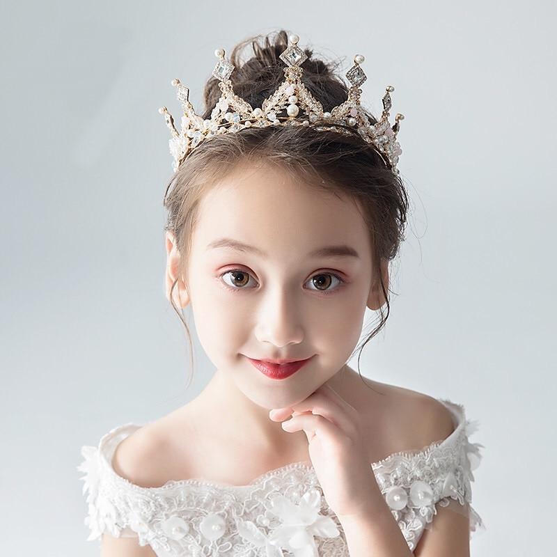 Fashion Bridal Princess Women Crown Wedding Tiaras Hair Jewelry Rhinestone Headband Girls Children Tiara Hair Accessories недорого
