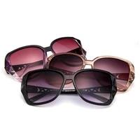 fashion square sunglasses ladies luxury brand big purple sunglasses female mirror shadow ladies high end glasses