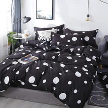 Housse de couette ensemble de literie Couple adulte grand linge de lit en coton doux Double pleine reine King Size couette couette couette literie s24