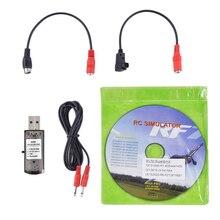 22-en-1 RC simulateur drone avec câble pratique passe-temps jouets de rechange facile à installer RealFlight G7 USB accessoires